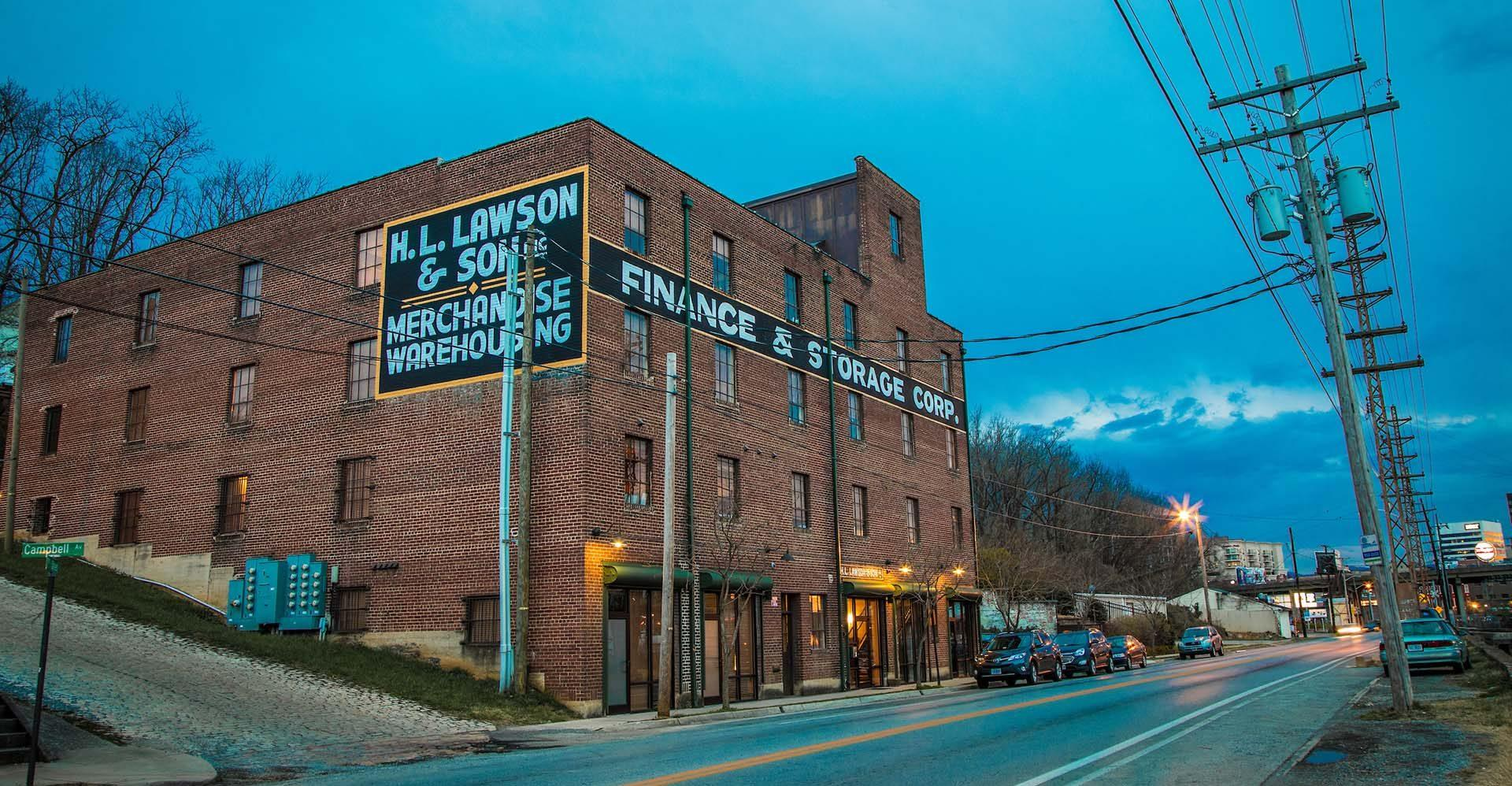 The Lawson Building East: Lawson Building outside