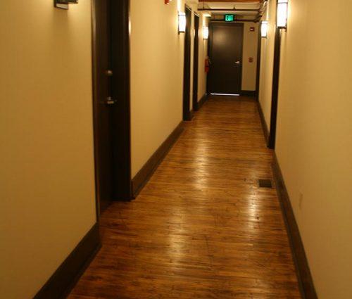 Lawson Building East: Hallway