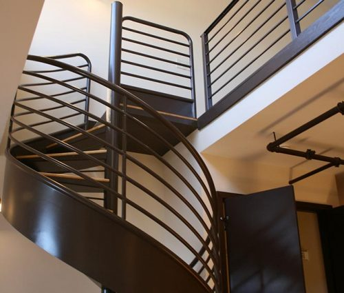 Lawson Building East: Spiral Staircase