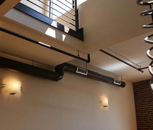 Apartment railing