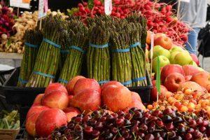 The Lawson Building East: Vegetables at Famers Market